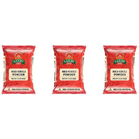 Pack of 3 - Laxmi Red Chilli Powder - 14 Oz
