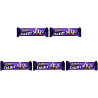 Pack of 5 - Cadbury Dairy Milk - 45 Gm