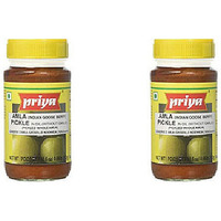 Pack of 2 - Priya Amla Pickle No Garlic - 300 Gm