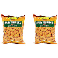 Pack of 2 - Anand Baby Muruku Spicy - 7.04 Oz