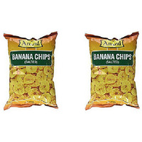 Pack of 2 - Anand Banana Chips Salted - 14.08 Oz