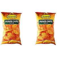 Pack of 2 - Anand Potato Chips Masala - 7.04 Oz