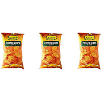 Pack of 3 - Anand Potato Chips Masala - 7.04 Oz