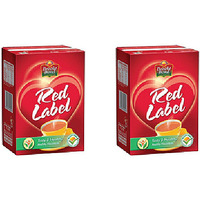 Pack of 2 - Brooke Bond Red Label Tea - 500 Gm