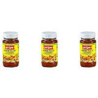 Pack of 3 - Priya Ginger Pickle With Garlic - 300 Gm