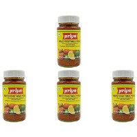 Pack of 4 - Priya Mixed Veg With Garlic Pickle - 300 Gm