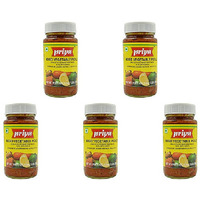 Pack of 5 - Priya Mixed Veg With Garlic Pickle - 300 Gm