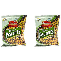Pack of 2 - Jabsons Roasted Peanuts Chilly Garlic - 140 Gm