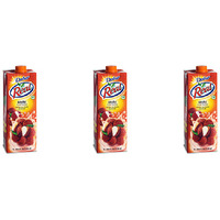 Pack of 3 - Dabur Real Litchi Nector Juice - 1 Ltr