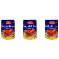 Pack of 3 - Haldiram's Long Gulab Jamun - 1 Kg