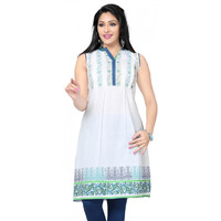 Fine Cotton White Tu ...