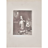 IndianShelf Handmade Paper The Idle Servant Poster Photo Prints/ Lithographs/ Wall Art PT-189