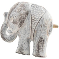 IndianShelf Handmade Iron Antique Elephant Shape Artistic Designer Drawer Knobs/Cabinet Pulls