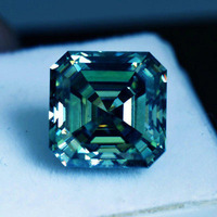 Asscher Shape Cut Lo ...