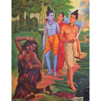 A Color Symbolic Episode from the Ramayana