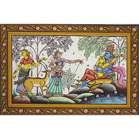 Radha Krishna on the ...