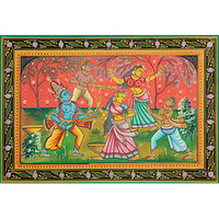 Lord Krishna Playing ...