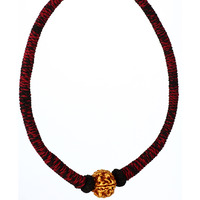 Rudraksha Necklace w ...