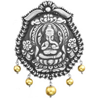 Bhagawan Ganesha Pendant (South Indian Temple Jewelry)