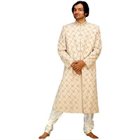 Ivory Sherwani with  ...