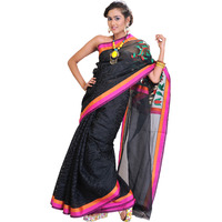 Black Banarasi Sari with Designer Kadwa Anchal
