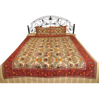 Almond-Oil Bedsheet  ...