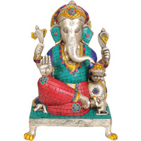 Lord Ganesha Seated  ...