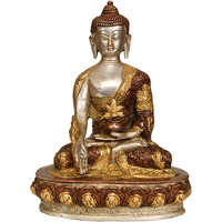Medicine Buddha with ...