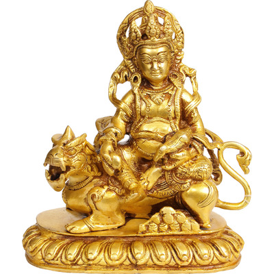 Kubera on Lion ...