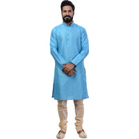 Ethnic Men Blue Indi ...