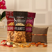 Rakhi with Peanuts ...