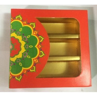 Decorative New Design Empty Sweet Boxes With Ambos Printing - 250 Gm