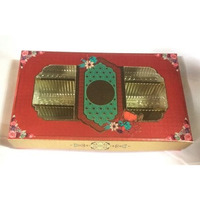 Decorative New Design Empty Sweet Boxes With Ambos Printing - 500 Gm