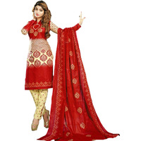 MAHATI lawn cotton salwar suits with cotton dupatta (Size:M)