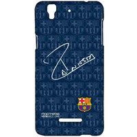 Autograph Iniesta - Sublime Case for YU Yureka Plus