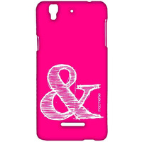 AND Pink - Sublime Case for YU Yureka Plus