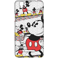 I Heart Mickey - Sublime Case for YU Yureka Plus