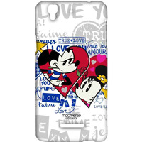 Mickey Minnie True Love - Sublime Case for YU Yureka Plus