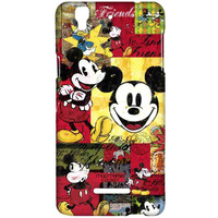 Mickey Moodboards - Sublime Case for YU Yureka Plus