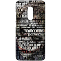 Joker Quotes - Sublime Case for Xiaomi Redmi Note 4