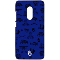 KR Collage Blue - Sublime Case for Xiaomi Redmi Note 4