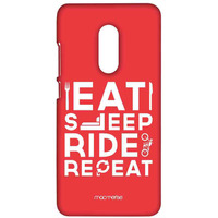 Eat Sleep Ride Repeat - Sublime Case for Xiaomi Redmi Note 4