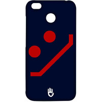 KR Navy Red Smiley - Sublime Case for Xiaomi Redmi 4