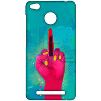 Lipstick Rebel Blue - Sublime Case for Xiaomi Redmi 3S Prime