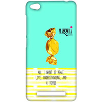Masaba Peace Love Toffee - Sublime Case for Xiaomi Redmi 3S