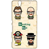 Breaking Bad Caricatures  - Sublime Case for Sony Xperia C4