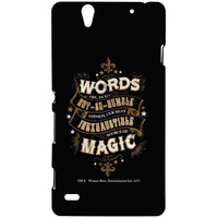 Words and Magic  - Sublime Case for Sony Xperia C4