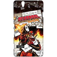 Comic Deadpool - Sublime Case for Sony Xperia C4