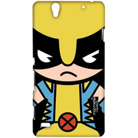 Kawaii Art Wolverine - Sublime Case for Sony Xperia C4