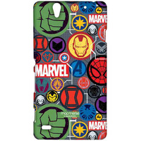 Marvel Iconic Mashup - Sublime Case for Sony Xperia C4